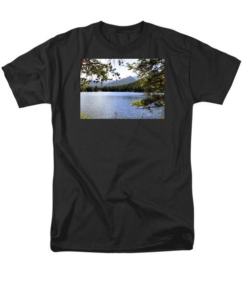 Men's T-Shirt  (Regular Fit) featuring the photograph Bear Lake Rmnp by Nava Thompson