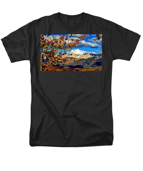 Beautiful Colorado Men's T-Shirt  (Regular Fit) by Ellen Heaverlo