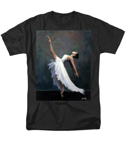 Men's T-Shirt  (Regular Fit) featuring the painting Beautiful Dancer by Janet King