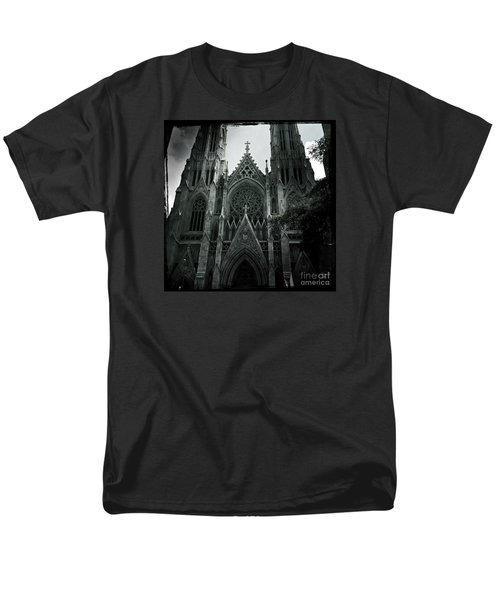 Beautiful St Patricks Cathedral Men's T-Shirt  (Regular Fit) by Miriam Danar