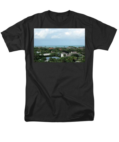 Beautiful Vero Beach Florida Men's T-Shirt  (Regular Fit) by Megan Dirsa-DuBois