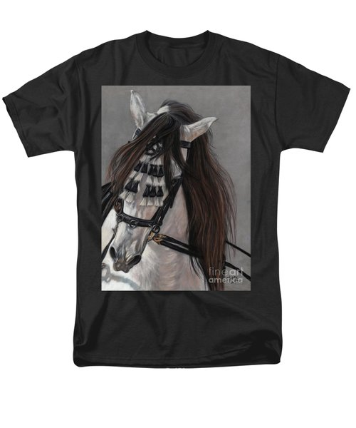 Men's T-Shirt  (Regular Fit) featuring the painting Beauty In Hand by Sheri Gordon