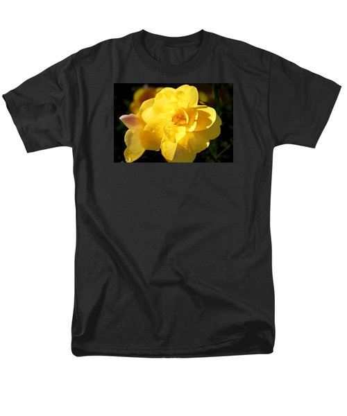 Men's T-Shirt  (Regular Fit) featuring the photograph Beauty In Yellow by Milena Ilieva