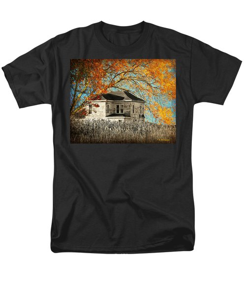 Beauty Surrounds Deserted Home Men's T-Shirt  (Regular Fit) by Kathy M Krause