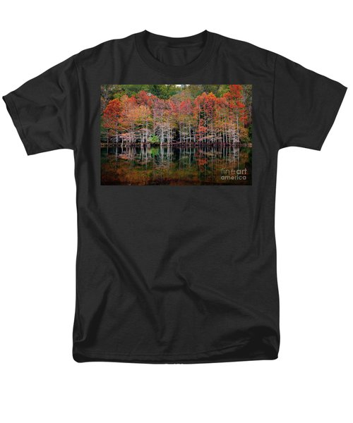 Beaver's Bend Cypress Soldiers Men's T-Shirt  (Regular Fit) by Tamyra Ayles