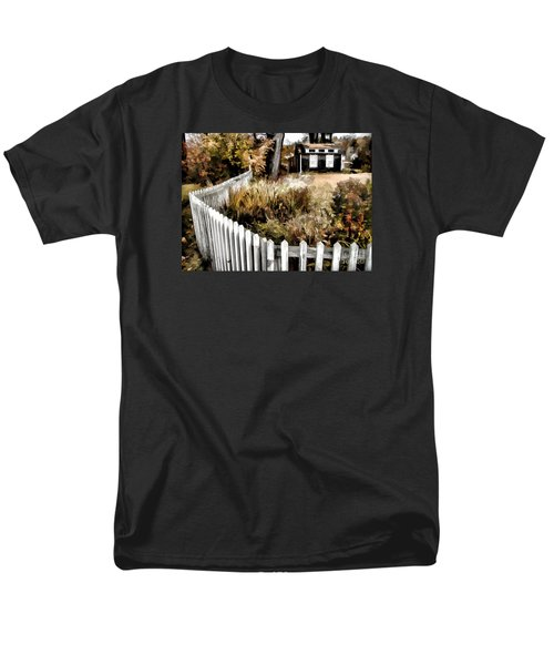 Men's T-Shirt  (Regular Fit) featuring the photograph Before Snow Flies by Betsy Zimmerli