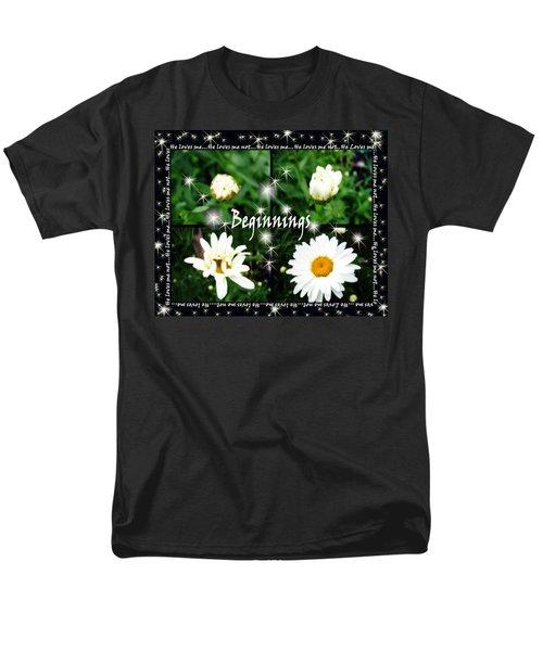 Beginnings  Men's T-Shirt  (Regular Fit) by Cathy  Beharriell