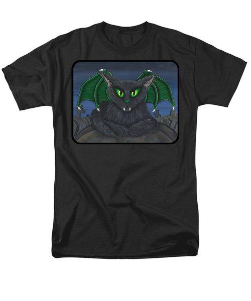 Bela Vampire Cat Men's T-Shirt  (Regular Fit) by Carrie Hawks