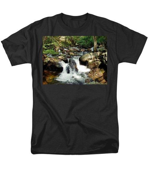 Below Anna Ruby Falls Men's T-Shirt  (Regular Fit) by Jerry Battle