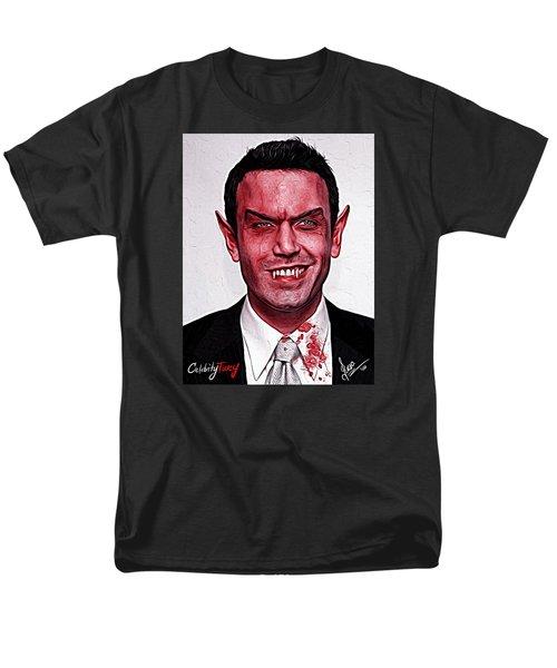 Ben Affleck Men's T-Shirt  (Regular Fit) by Gene Spino
