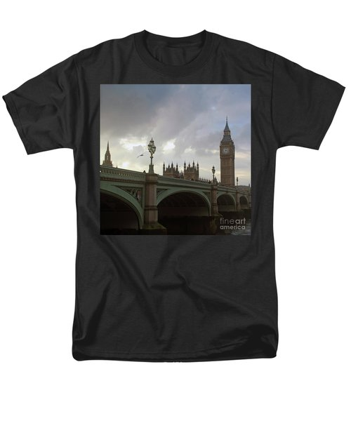 Men's T-Shirt  (Regular Fit) featuring the photograph Ben And The Bridge by Sebastian Mathews Szewczyk
