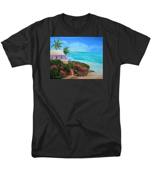 Men's T-Shirt  (Regular Fit) featuring the painting Bermuda Bliss by Shelia Kempf