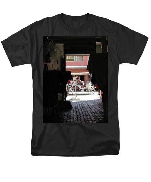 Men's T-Shirt  (Regular Fit) featuring the photograph Bermuda Carriage by Ian  MacDonald