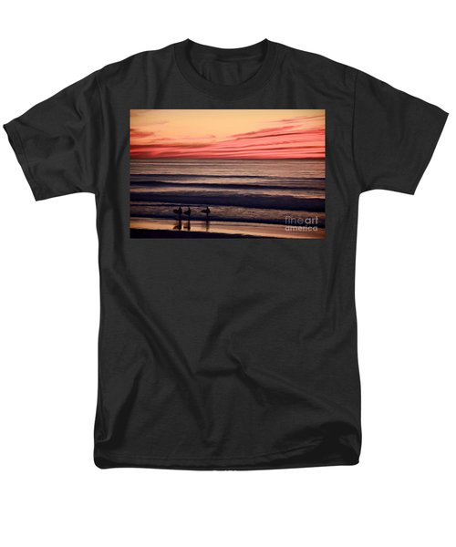 Beside Still Waters - Digital Paint Effect Men's T-Shirt  (Regular Fit) by Sharon Soberon