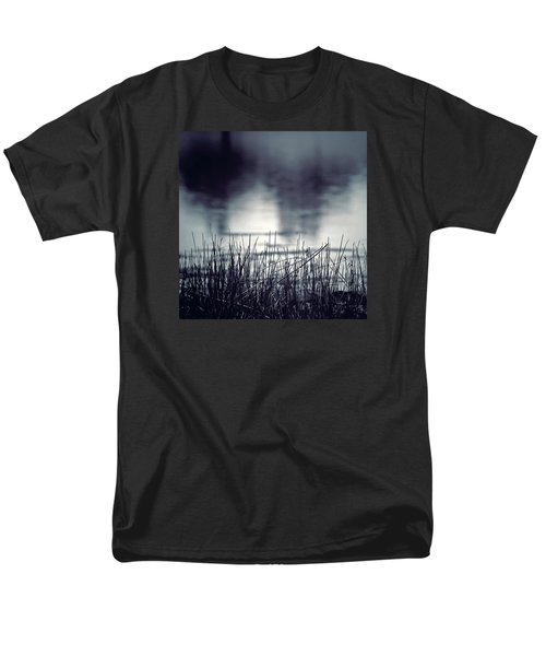 Men's T-Shirt  (Regular Fit) featuring the photograph Between The Waters by Trish Mistric