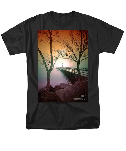 Between Two Trees Men's T-Shirt  (Regular Fit) by Tara Turner