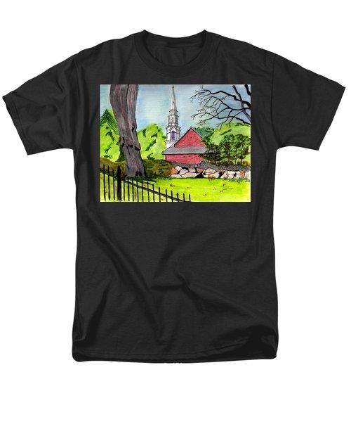 Beverly First Baptist Church Men's T-Shirt  (Regular Fit)