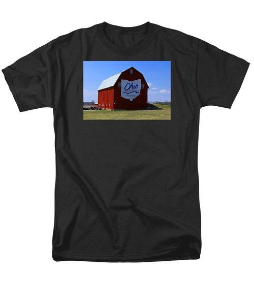 Bicentennial Barn  Men's T-Shirt  (Regular Fit) by Michiale Schneider