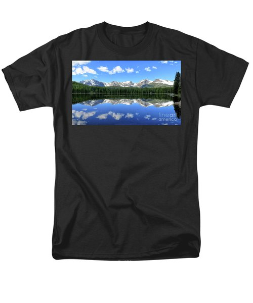 Bierstadt Lake In Rocky Mountain National Park Men's T-Shirt  (Regular Fit) by Ronda Kimbrow