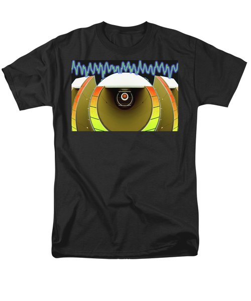 Men's T-Shirt  (Regular Fit) featuring the digital art Big Boom Box by Wendy J St Christopher