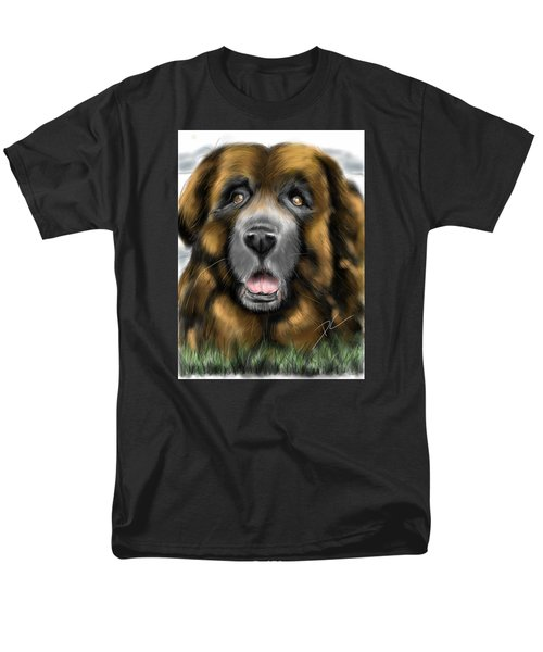 Big Dog Men's T-Shirt  (Regular Fit) by Darren Cannell