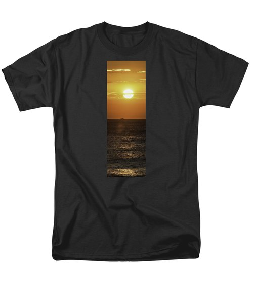 Men's T-Shirt  (Regular Fit) featuring the photograph Big Ocean Small Boat by Jim Moore