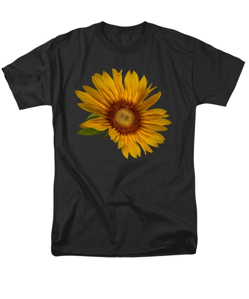 Men's T-Shirt  (Regular Fit) featuring the photograph Big Sunflower by Debra and Dave Vanderlaan