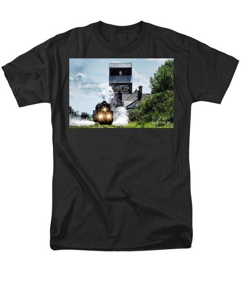 Big Valley Steam Men's T-Shirt  (Regular Fit) by Brad Allen Fine Art