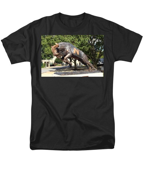 Bill The Goat - Usna Men's T-Shirt  (Regular Fit) by Lou Ford