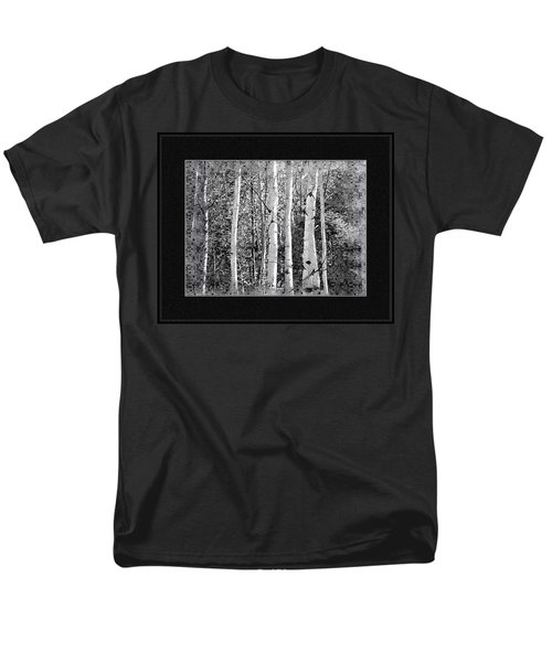 Men's T-Shirt  (Regular Fit) featuring the photograph Birch Trees by Susan Kinney