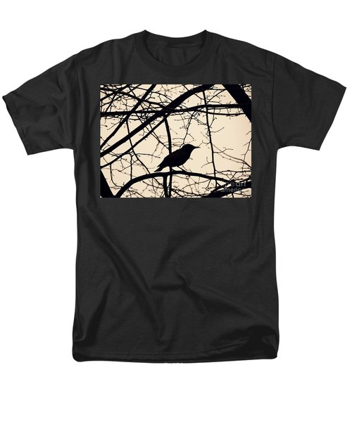 Bird Silhouette Men's T-Shirt  (Regular Fit) by Sarah Loft