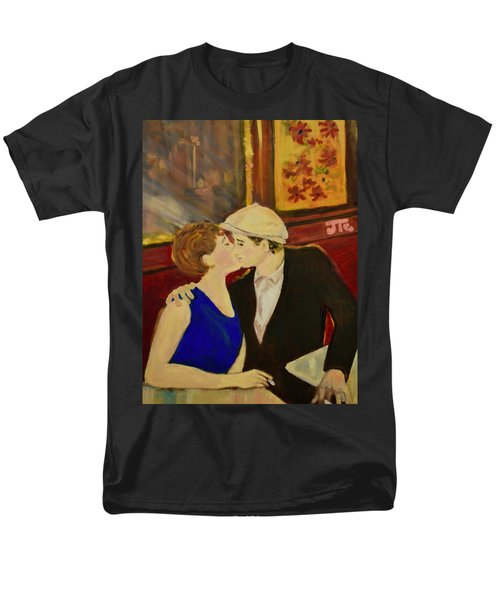Bisou Men's T-Shirt  (Regular Fit) by Julie Todd-Cundiff