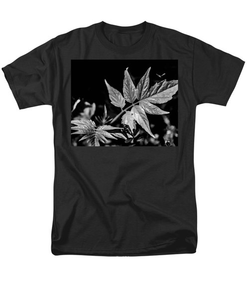 Black And White On The Forest Floor Men's T-Shirt  (Regular Fit) by Bruce Pritchett