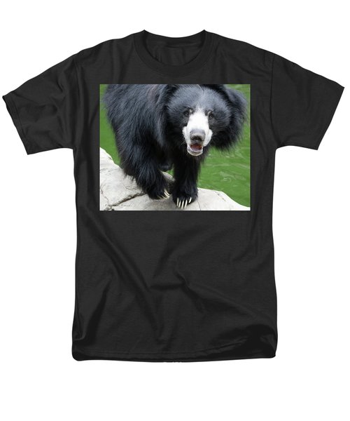 Sun Bear Men's T-Shirt  (Regular Fit) by Inspirational Photo Creations Audrey Woods