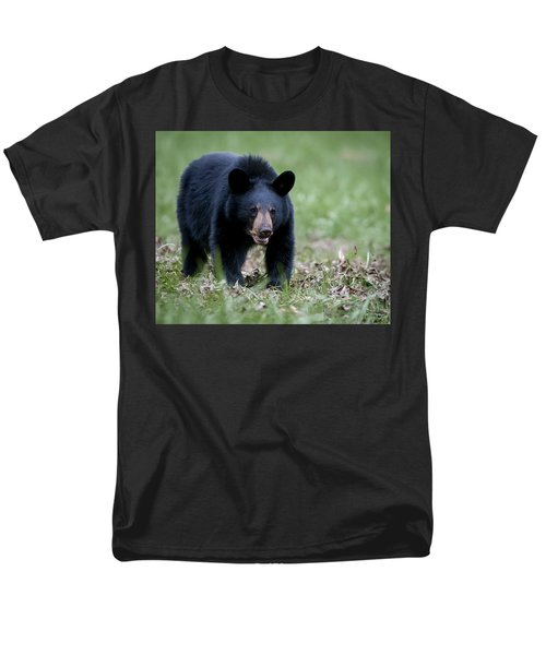 Men's T-Shirt  (Regular Fit) featuring the photograph Black Bear by Tyson and Kathy Smith