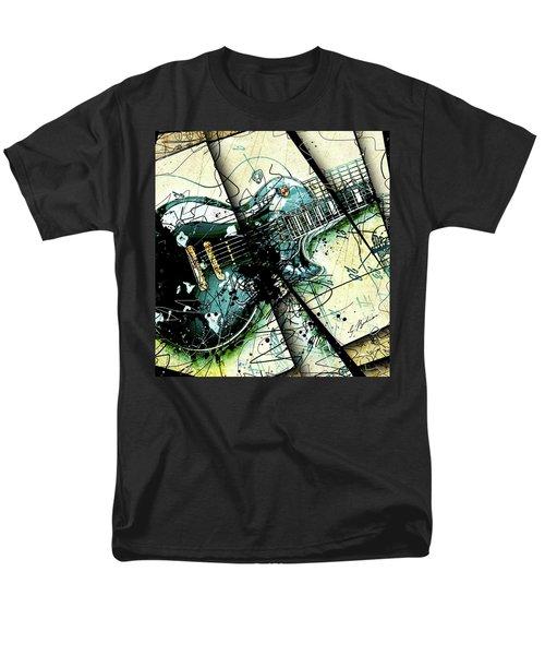 Black Beauty C 1  Men's T-Shirt  (Regular Fit) by Gary Bodnar