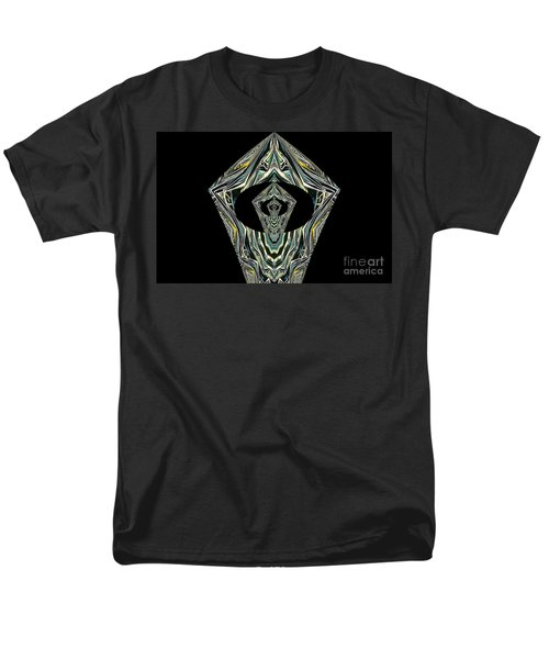 Men's T-Shirt  (Regular Fit) featuring the photograph Black Enigma by Oksana Semenchenko