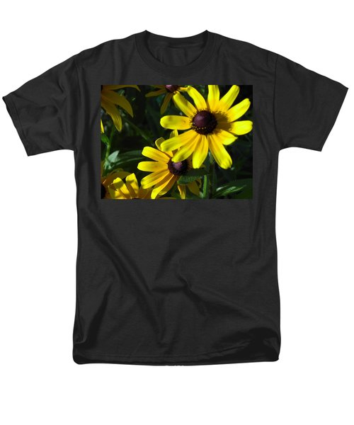 Black Eyed Susan Men's T-Shirt  (Regular Fit) by Mary-Lee Sanders