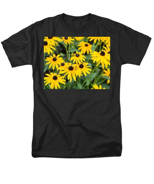 Black-eyed Susan Up Close Men's T-Shirt  (Regular Fit) by E Faithe Lester
