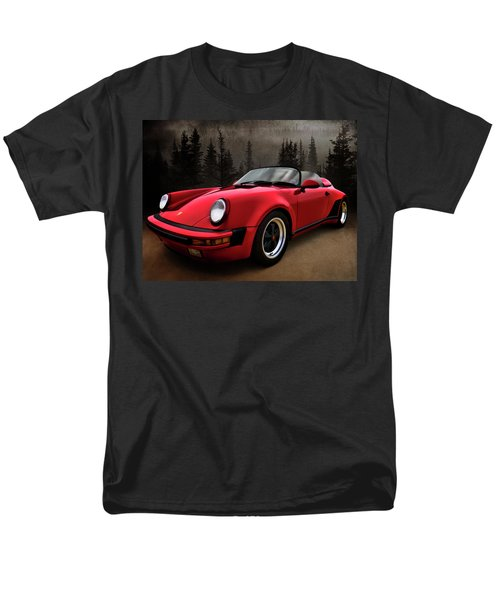 Black Forest - Red Speedster T-Shirt by Douglas Pittman