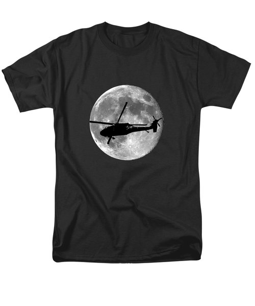 Black Hawk Moon .png Men's T-Shirt  (Regular Fit) by Al Powell Photography USA
