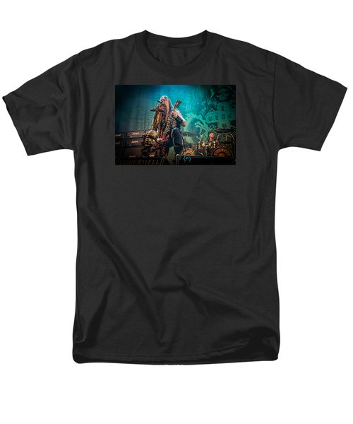 Men's T-Shirt  (Regular Fit) featuring the photograph Black Label Society by Stefan Nielsen