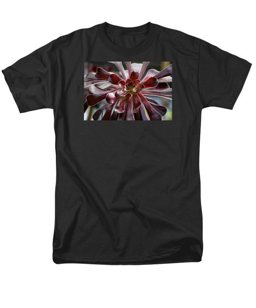 Black Rose Men's T-Shirt  (Regular Fit) by Deborah  Crew-Johnson