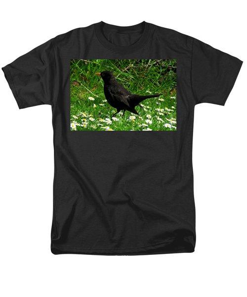 Blackbird Men's T-Shirt  (Regular Fit) by John Topman