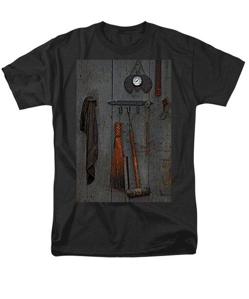 Blacksmith Wall Men's T-Shirt  (Regular Fit) by Rowana Ray