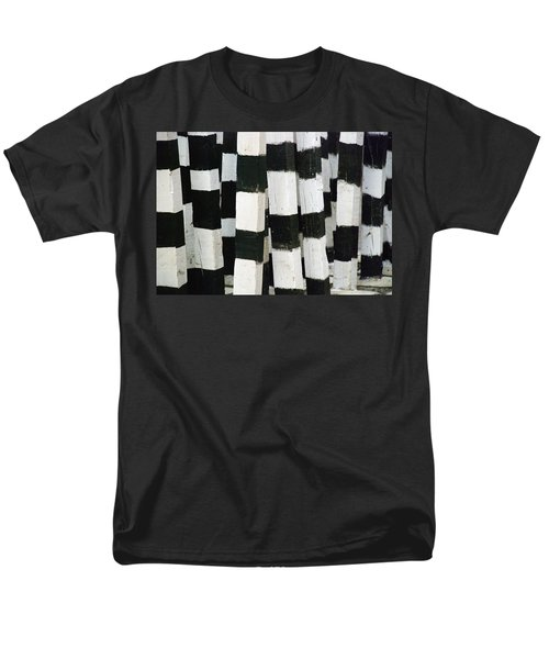 Men's T-Shirt  (Regular Fit) featuring the photograph Blanco Y Negro by Skip Hunt