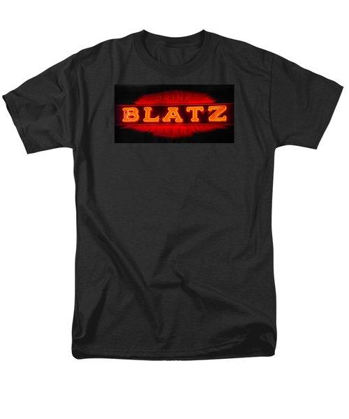 Blatz Beer  Men's T-Shirt  (Regular Fit) by Susan  McMenamin