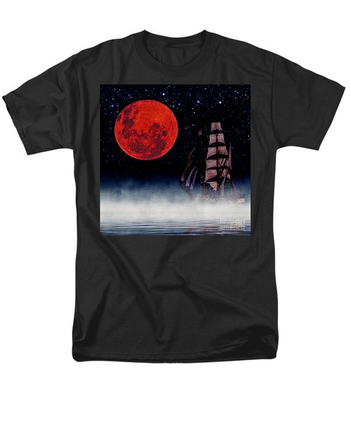 Blood Moon Men's T-Shirt  (Regular Fit) by Blair Stuart