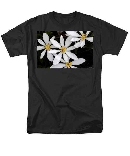 Sanguinaria Men's T-Shirt  (Regular Fit) by Skip Tribby