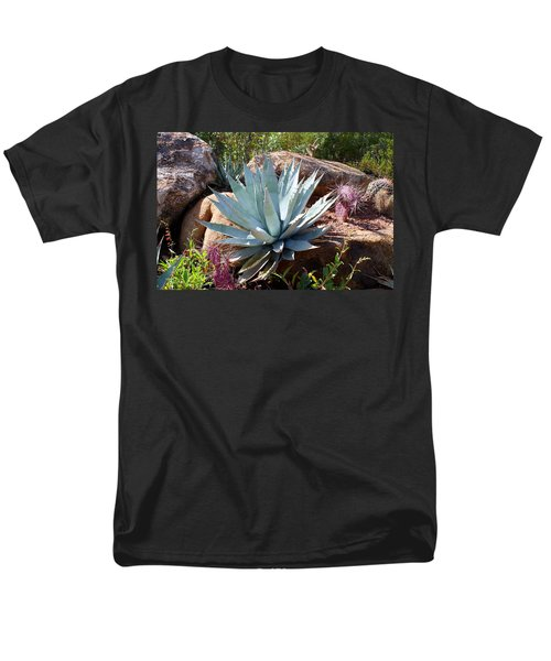 Men's T-Shirt  (Regular Fit) featuring the photograph Blue Agave by Kathryn Meyer